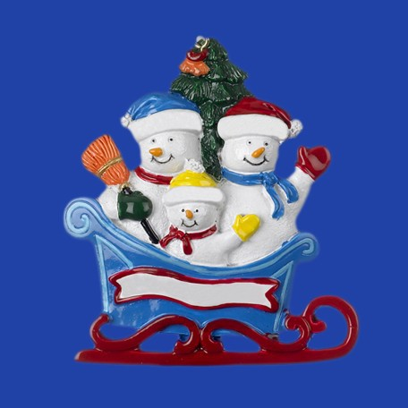 New Products Hand Made Resin Christmas Snowman Crafts