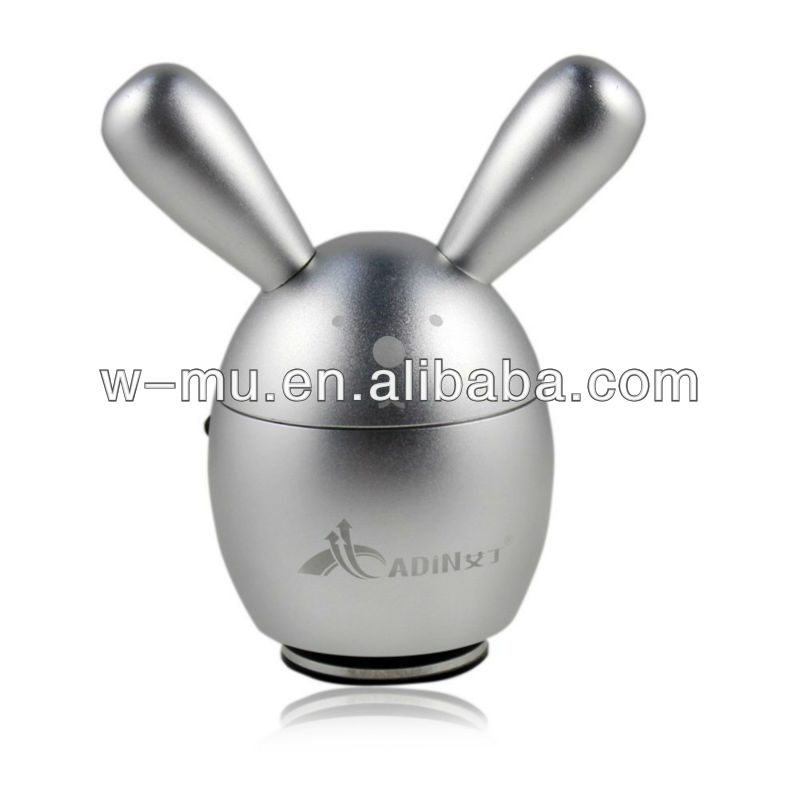Lovely Rabbit 5W vibration speaker 360 omni-directional HiFi sound support TF card FM radio