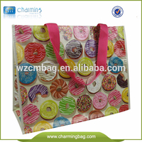 Eco-Friendly Laminated PP Woven Shopping Bag