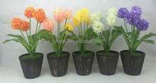 Wholesale artificial small flower bonsai for decoration