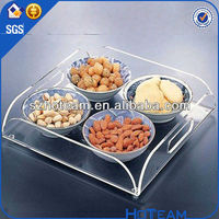 wholesale unique clear acrylic candy tray