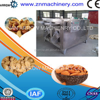 Automatic New Gas Hot Sale Gas Electric Peanut Roaster Machine