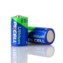 High quality Non rechargeable 3v cr2 lithium camera battery