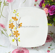 melamine catering dinner plates,square ceramic plates,plates and dishes