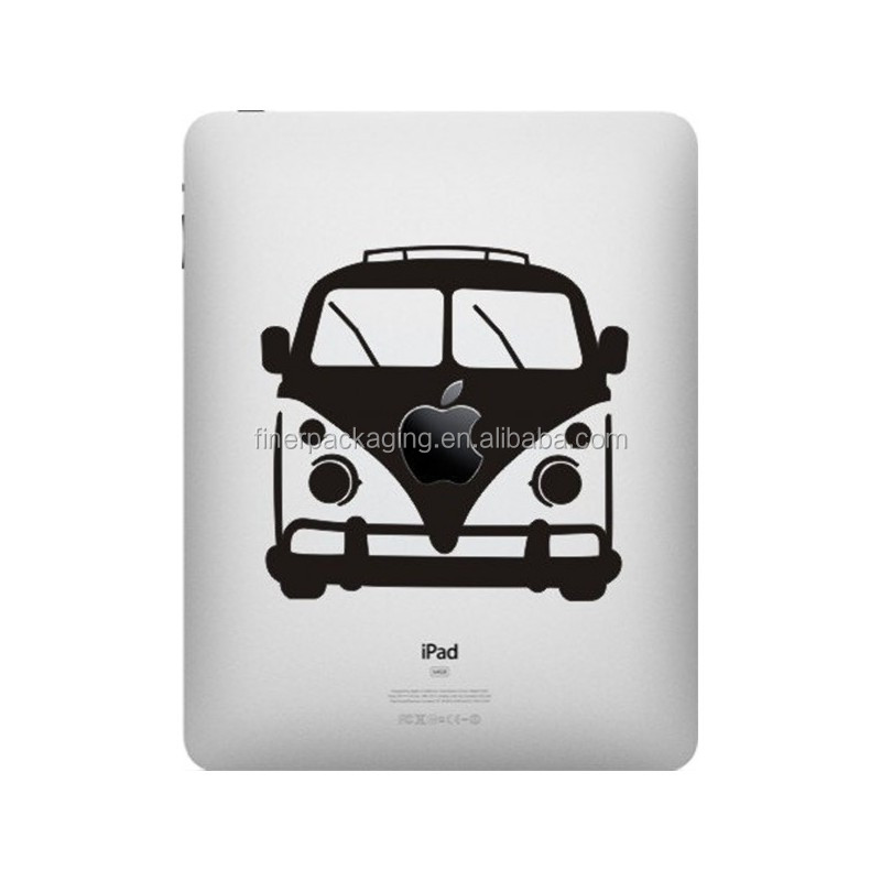 Custom design high quality ipad decorative sticker
