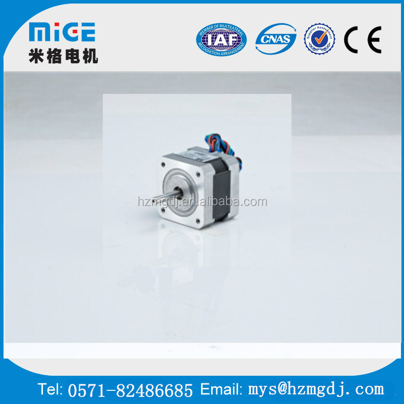 nema 28series step motor, china micro stepper motor hybrid servo 2 Phase stepper motor Hangzhou mige