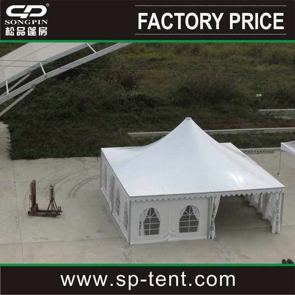 Top sale chinese outdoor big PVC garden pavilion gazebo