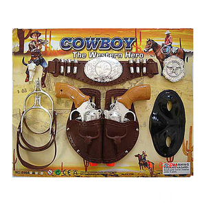Nice plastic toy cowboy guns for Kids