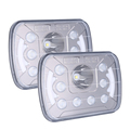 Auto car 5x7 inch square led headlight for jeep truck, sealed beam led
