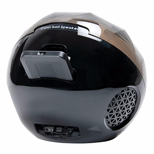 portable mini disco wireless stereo ball bluetooth speaker