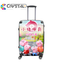 Customized design hot sale colorful pc material lightweight toto travel luggage for teenagers