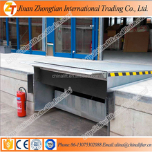Portable folding duable stationary hydraulic yard ramp with CE SGS