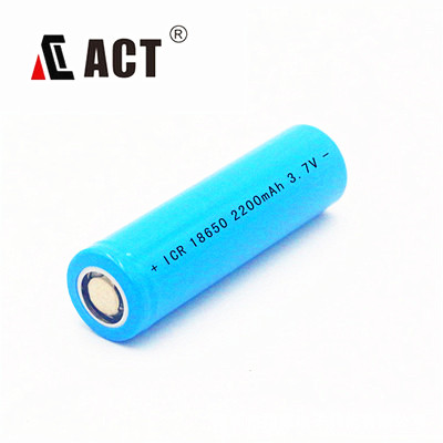 deep cycle enduring battery lithium ion 18650 3.7V 2200mAh lithium-ion batteries for sale