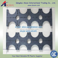 Solid HDPE Plastic Pipe Support /tube spacers manufacture