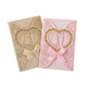 One Couple Design Pink Gold Laser Cut Wedding Cards Good Quality Wedding Cards Invitation