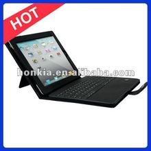 Detachable Wireless Bluetooth Keyboard Leather Case for Ipad