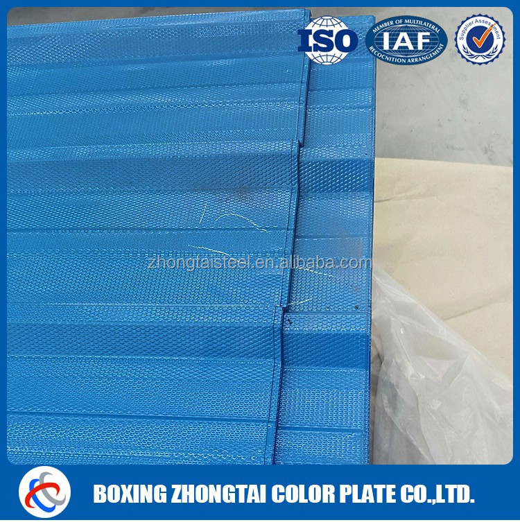 Best Design corrugated aluminum roofing