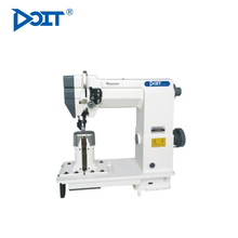 DT9920 Double needle post bed leather sewing machine with roller garment machinery