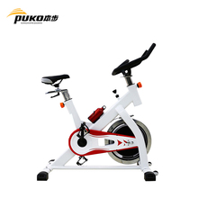 PUKO spin bike shiny steel 13kgs best exercise machines to lose belly fat