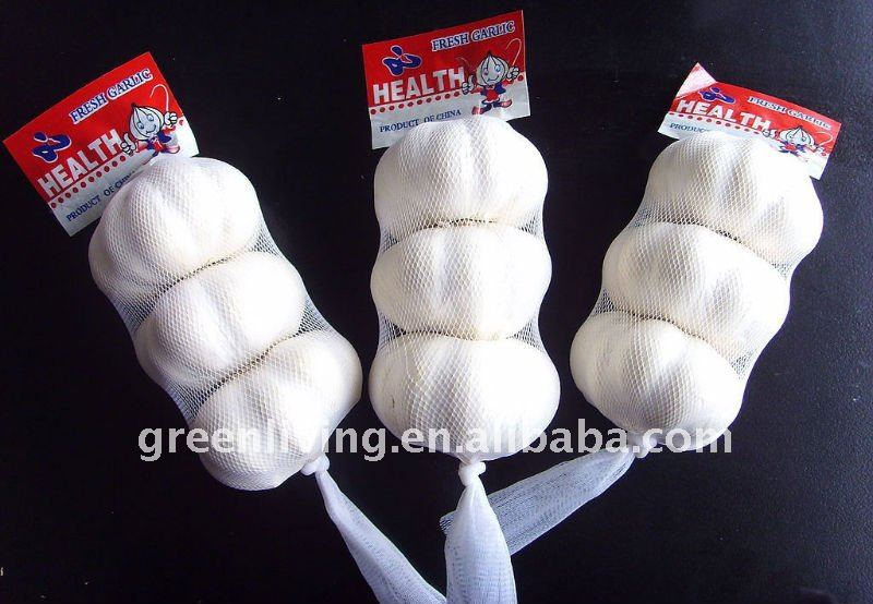 jinxiang pure white garlic(3pcs /10kgctns)