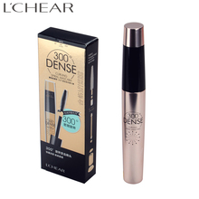 LCHEAR brand Waterproof Natural Long Lasting 300 curling rotate Unique Fiber Lash 3D Mascara