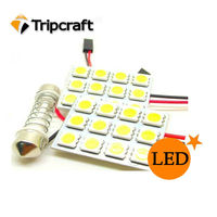 Hotsale auto dome bulbs/Auto LED bulbs 12smd 5050 /led auto lamp light