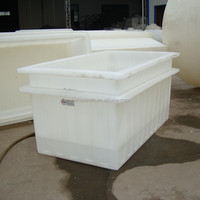High pressure rectangular seafood storage tank in food grade