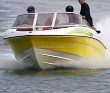 sports boat fiberglass boat high speed boat for sale