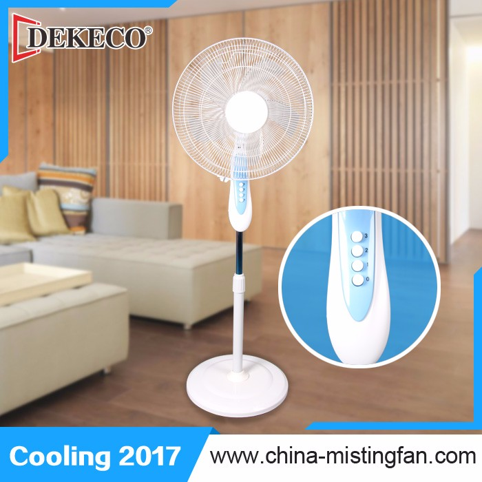 Universal 16inch cooling oscillating electric stand fan ari cooler without water