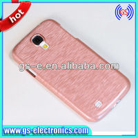 Plastic Wire Drawing Metal Hard Shell Protective Case Cover for Samsung Galaxy S4 SIV i9500