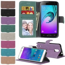 Fashion Retro Scrub PU Leather Case For Samsung Galaxy S6 G920 Cover Cases Card Slots Wallet