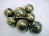 Pyrite Natural Gemstone Balls and spheres