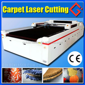 Automatic Carpet Laser Cutter for Logo Mat Cutting 1.6X3m,2.1X3m,3X4m