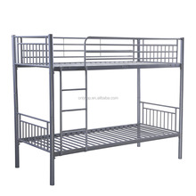 Detachable easy assembly adult bunk bed military