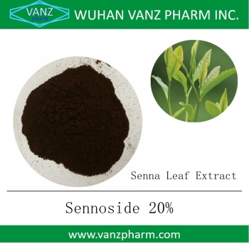 Water soluble Sennoside 20% Senna Leaf Extract powder