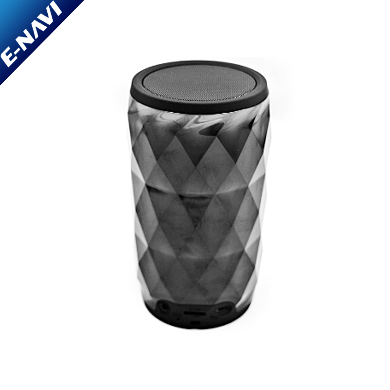 New Design Promotional Crystal Diamond BT Mini Wireless Led Speaker