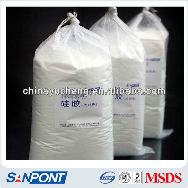 SANPONT Amorphous Powder Neutral silica gel 60 price shanghai