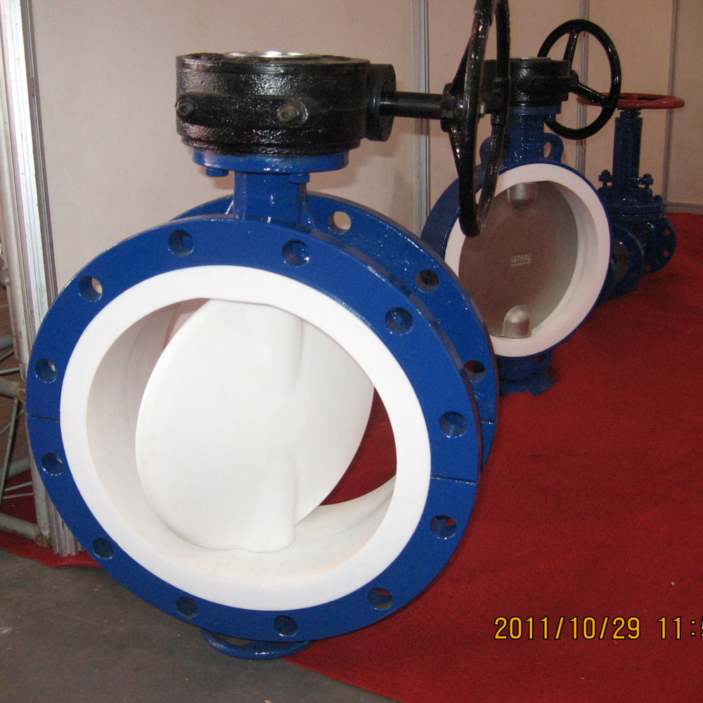 price butterfly valve dn300 lever operated