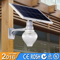 ip65 9w energy saving lamp solar garden with 10AH Lithium Battery/
