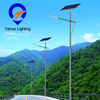 Hot sale DC12V energy saving IP65 50w solar panel auto-sensing outdoor led street light