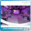 Portable pipe and drape for wedding party portable stage backdrops