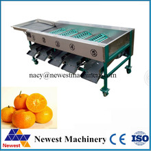 3-5t/h kiwi grading machine,food cleaning and grading processing line,fruit sorting machine