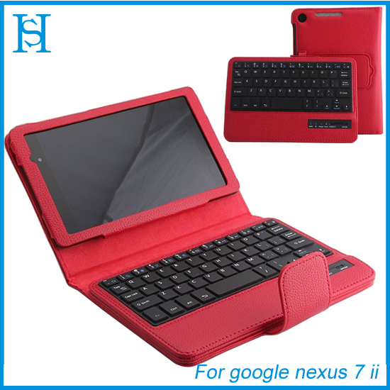 2013 new products cases for google nexus 7 wireless bluetooth keyborad