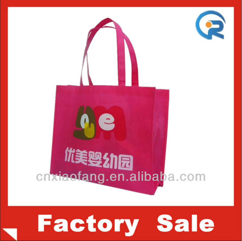 The lowest price Non woven promotional Shopping bag factory / Beach bag