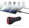DC12V 24V Multi 3USB USB C Port QC3.0 Fast Car USB Phone Charger