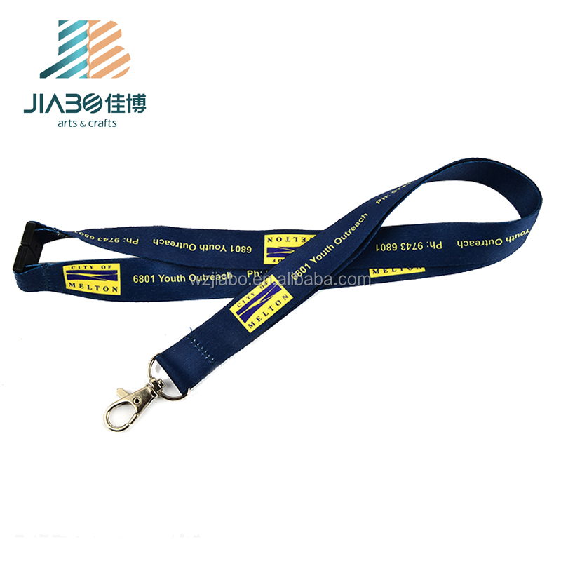 Airbus personalized Customized led zip pouch sublimation printed lanyard