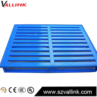Cheap Custom Warehouse storage stacking heavy duty steel euro pallet size