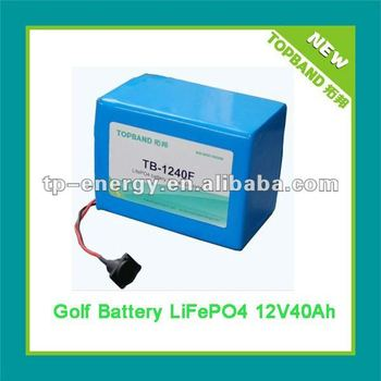 NEW!!! Remote Electric Golf Trolley Lithium Battery 12V 40Ah