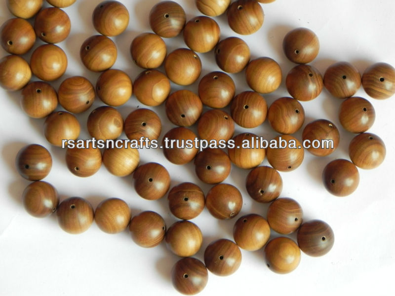 BEADS PURE MYSORE SANDALWOOD