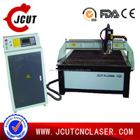 Steel Sheet Cutter/1325 CNC Plasma Cutter/Metal Cutting Plasma Machine JCUT-1325(start control,Sensor THC)